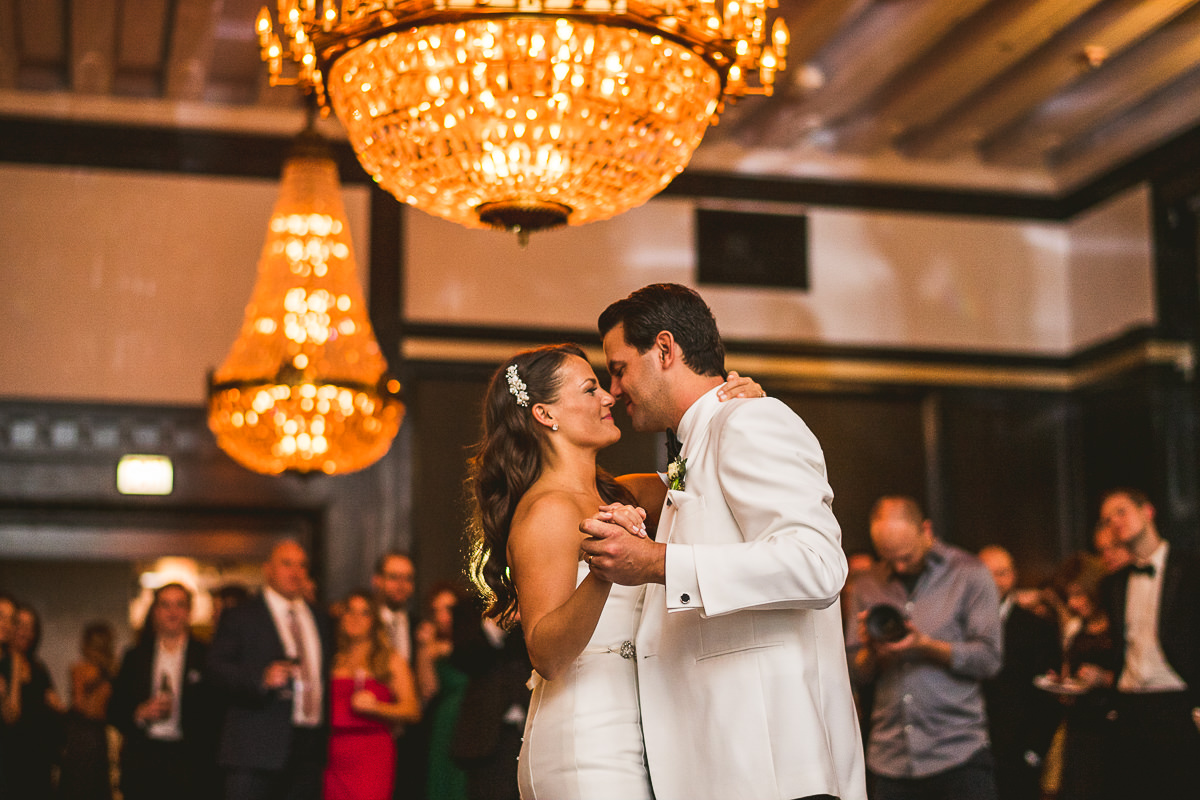 63 first dance at chicago athletic association - Chicago Wedding Photography at Chicago Athletic Association // Alicia + Spencer