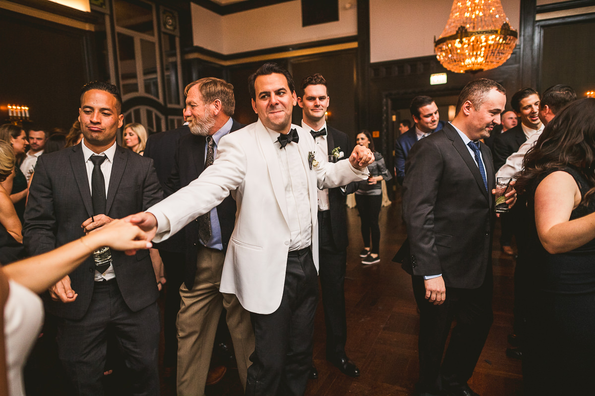 76 chicago wedding photography of reception - Chicago Wedding Photography at Chicago Athletic Association // Alicia + Spencer
