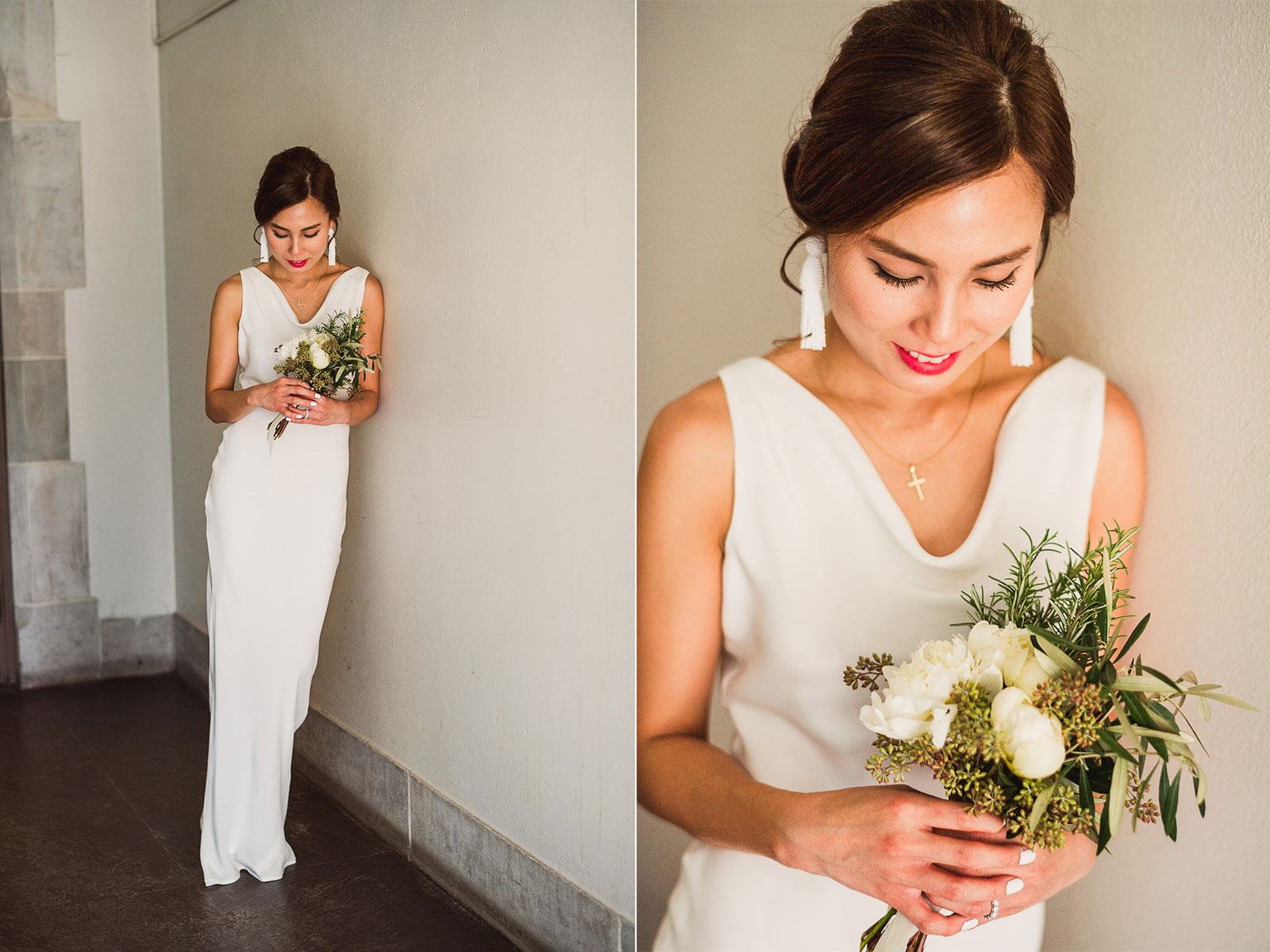 15 bridal portraits at northwestern - Rebecca + Doha // Wedding Photos at Room 1520 Chicago
