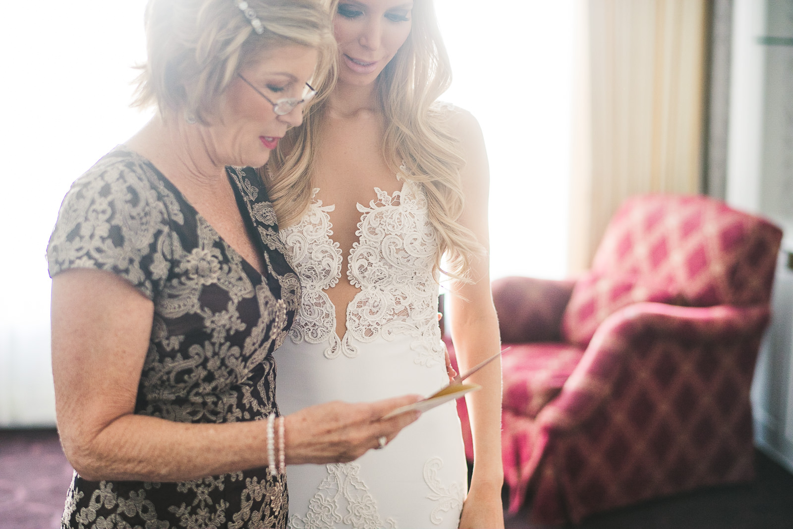 18 bride gift to mom - Kayla + Terry // Drake Hotel Chicago Wedding Photos