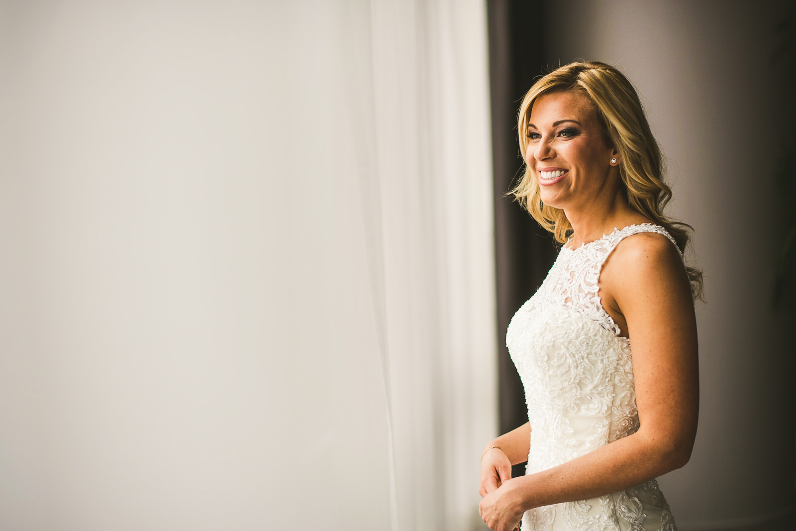 21 bride at wedding photos - Chicago Wedding Photography at Gallery 1028 // Courtnie + David