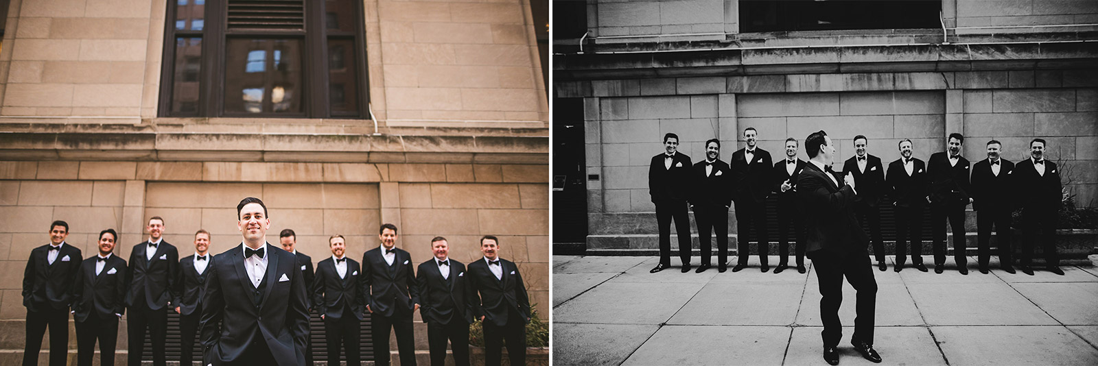 21 groom and groomsmen - Kayla + Terry // Drake Hotel Chicago Wedding Photos