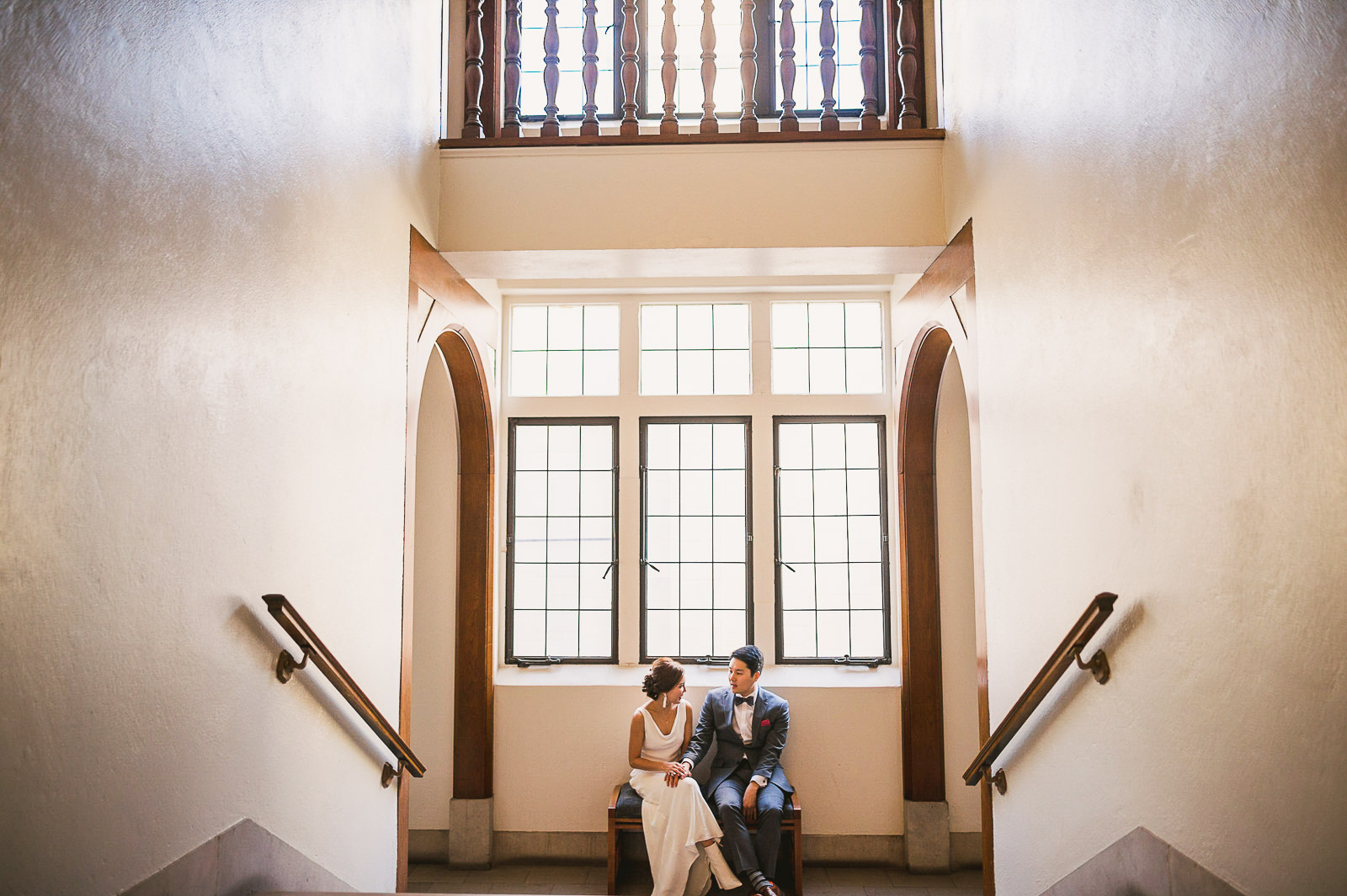 23 wedding photographer - Rebecca + Doha // Wedding Photos at Room 1520 Chicago