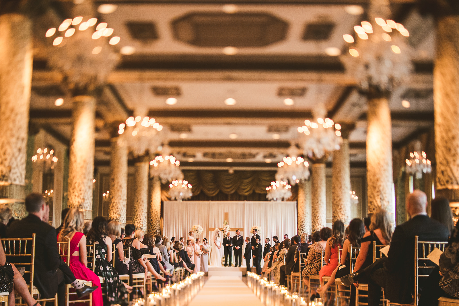 29 tilt shift - Kayla + Terry // Drake Hotel Chicago Wedding Photos