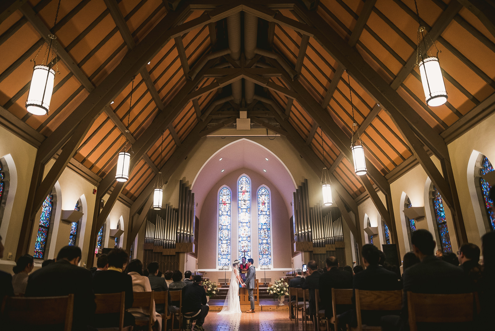 31 best church wedding photos - Rebecca + Doha // Wedding Photos at Room 1520 Chicago