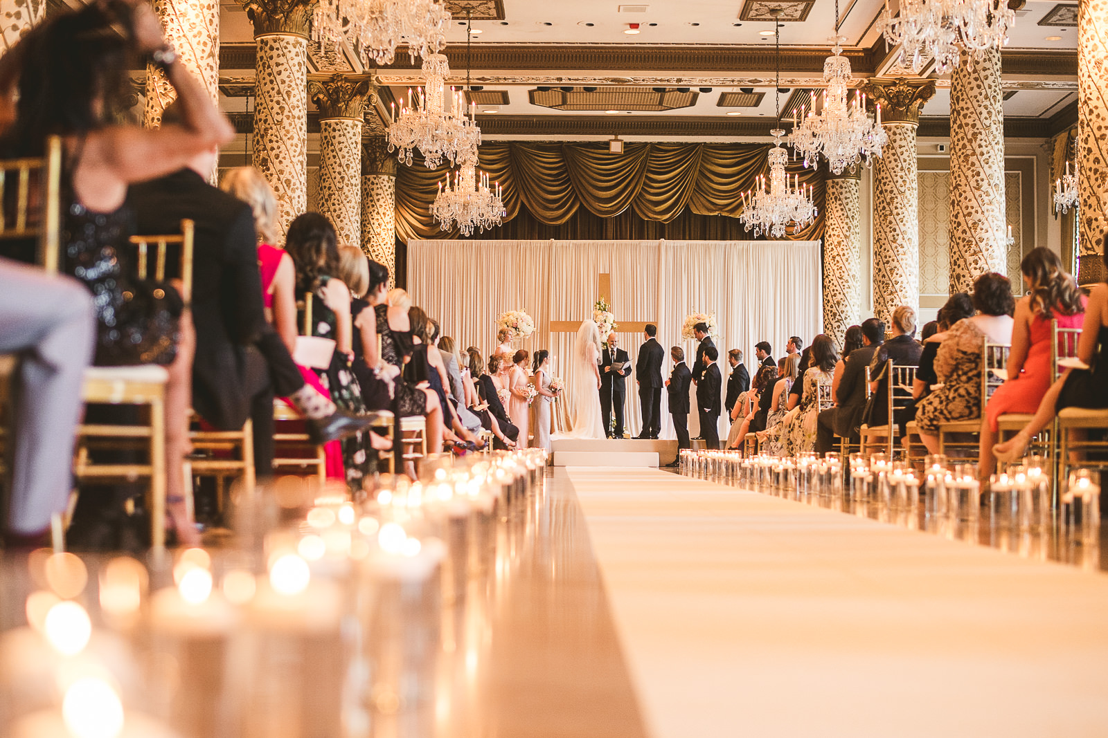 31 creative ceremony photos - Kayla + Terry // Drake Hotel Chicago Wedding Photos