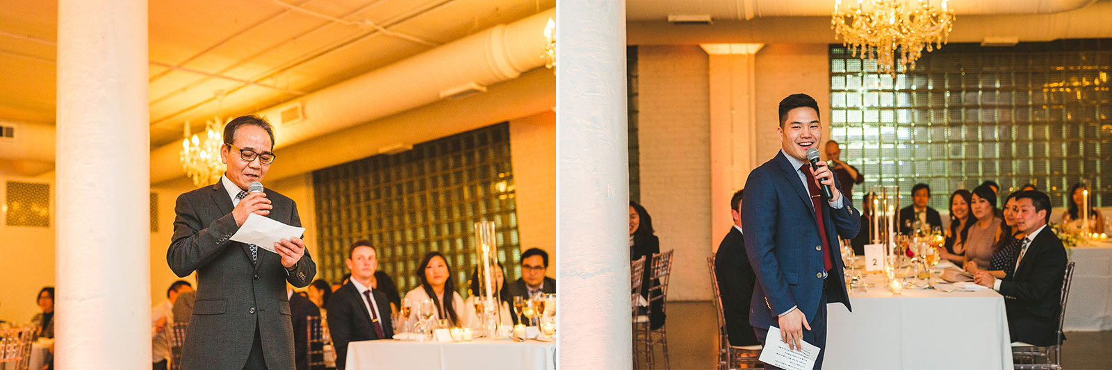 33 speeches at room 1520 - Rebecca + Doha // Wedding Photos at Room 1520 Chicago