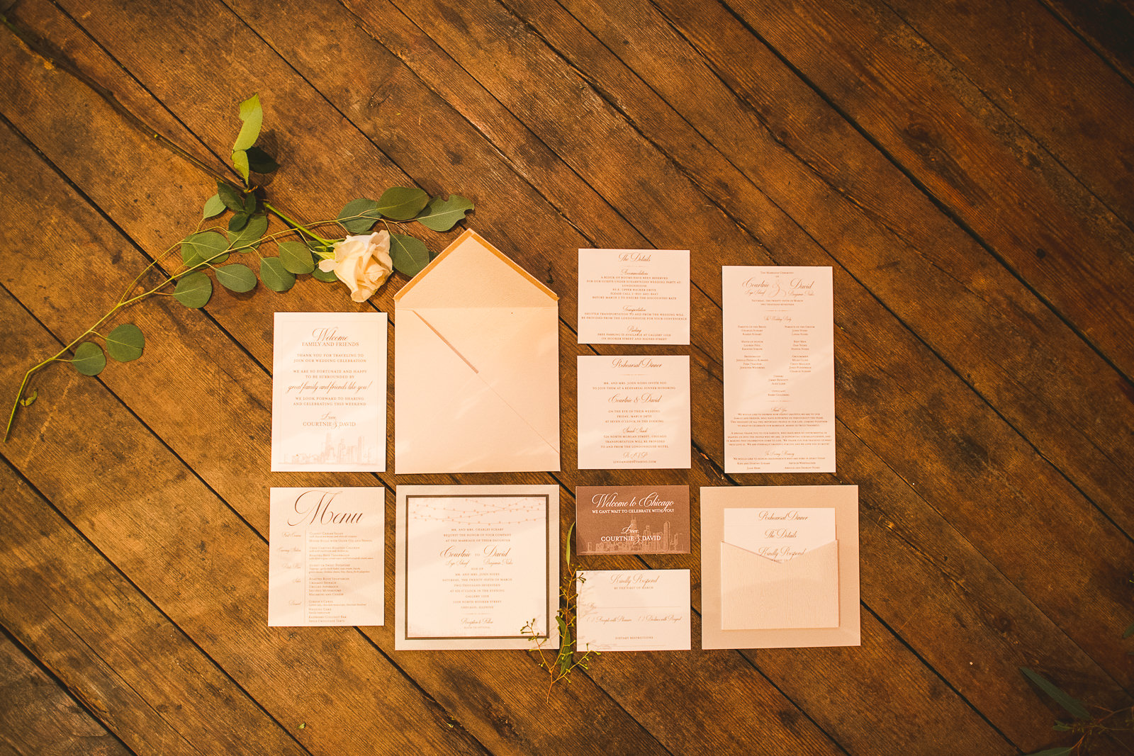 34 gallery 1028 wedding invites - Chicago Wedding Photography at Gallery 1028 // Courtnie + David