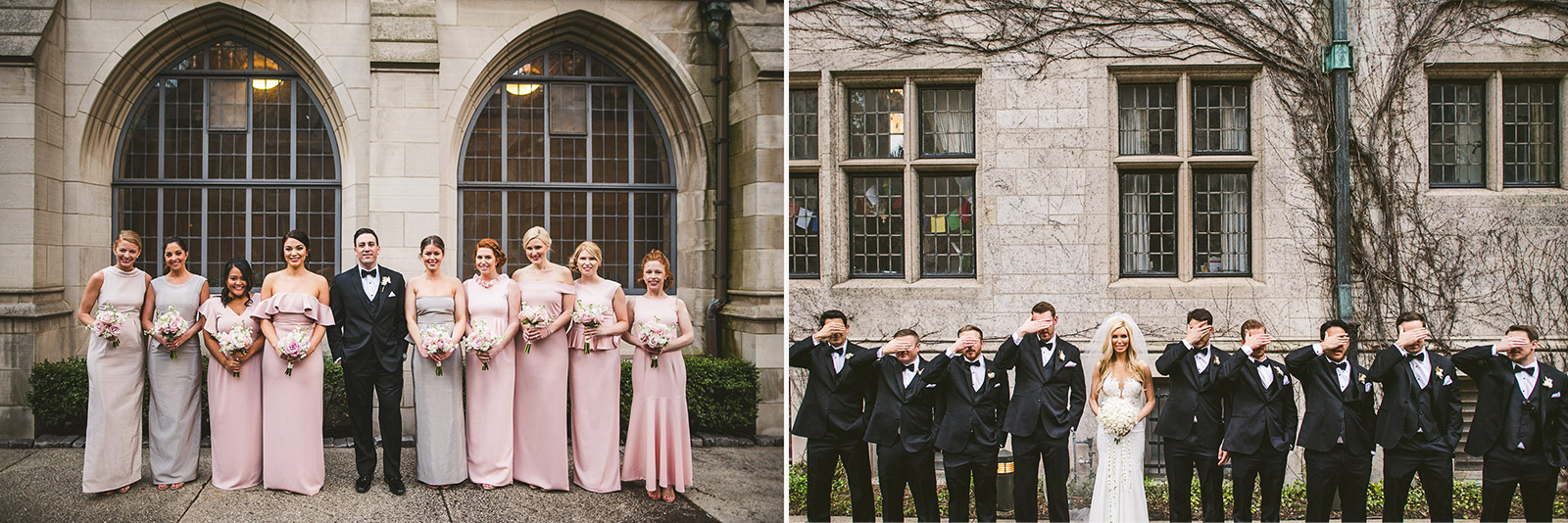 37 bridal party photos - Kayla + Terry // Drake Hotel Chicago Wedding Photos