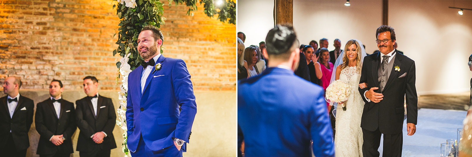 39 wedding at gallery 1028 - Chicago Wedding Photography at Gallery 1028 // Courtnie + David