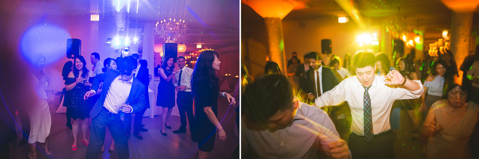 46 big wedding reception at room 1520 - Rebecca + Doha // Wedding Photos at Room 1520 Chicago