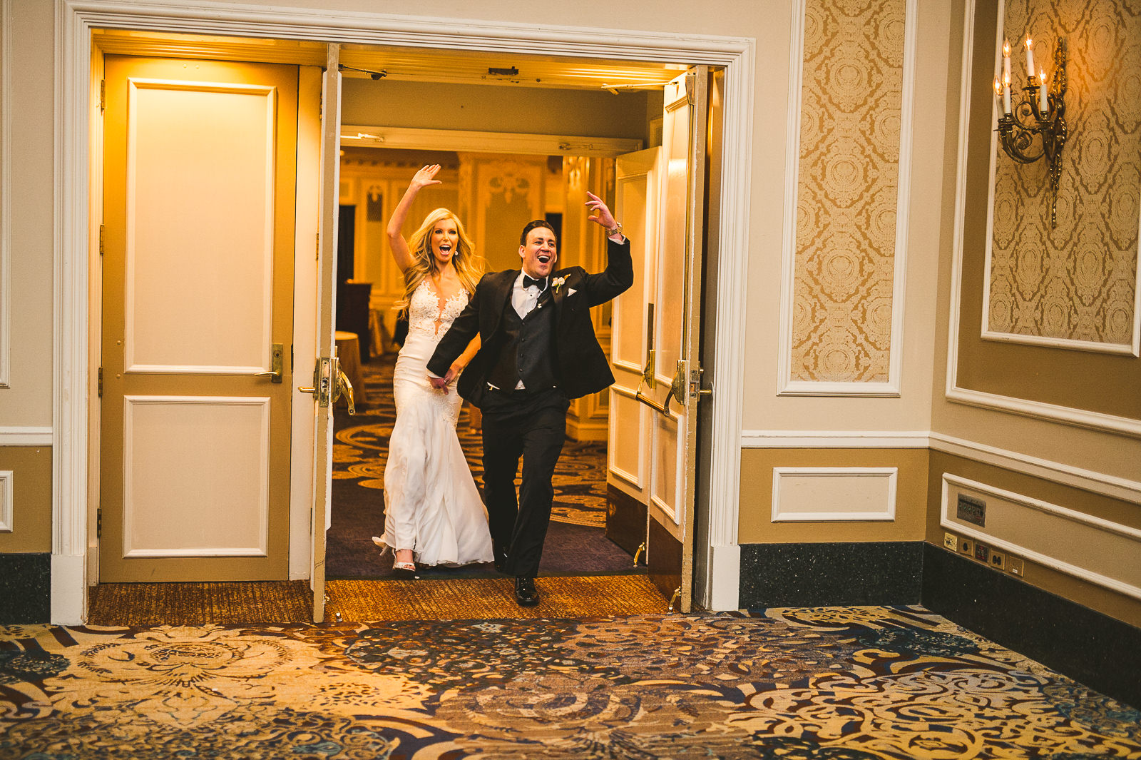 49 walking in - Kayla + Terry // Drake Hotel Chicago Wedding Photos