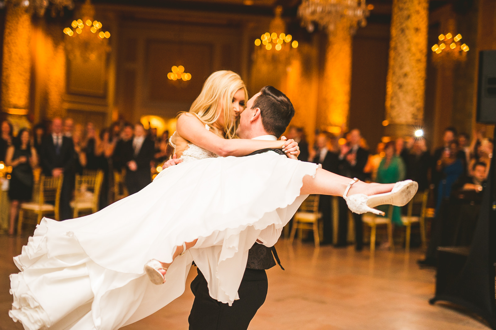 55 epic first dance - Kayla + Terry // Drake Hotel Chicago Wedding Photos