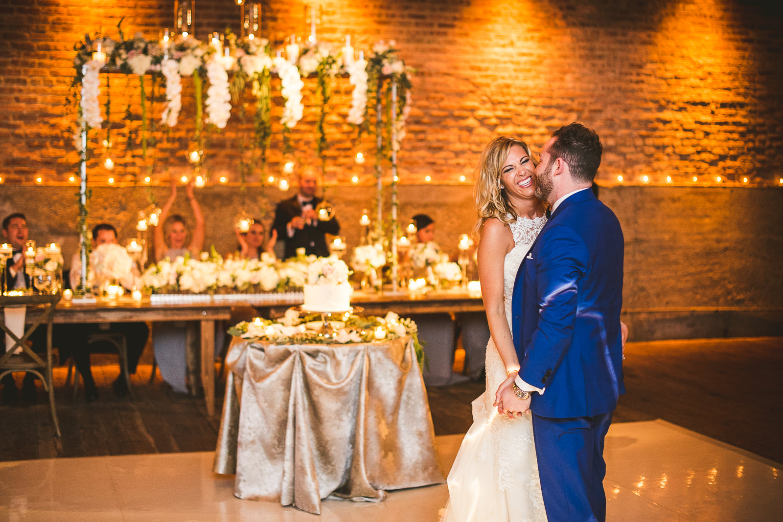 60 first dance at wedding - Chicago Wedding Photography at Gallery 1028 // Courtnie + David
