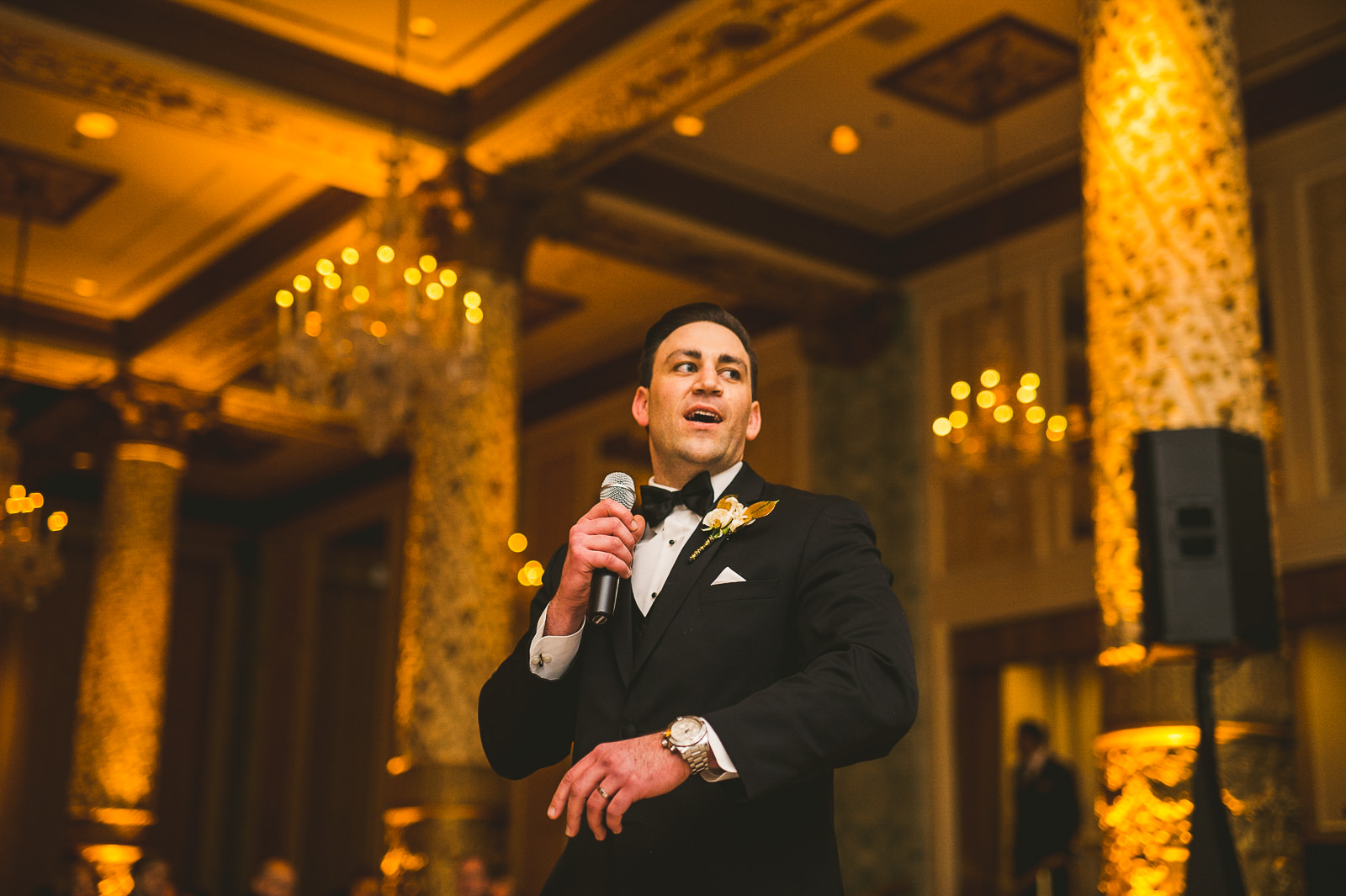 62 groom speech - Kayla + Terry // Drake Hotel Chicago Wedding Photos