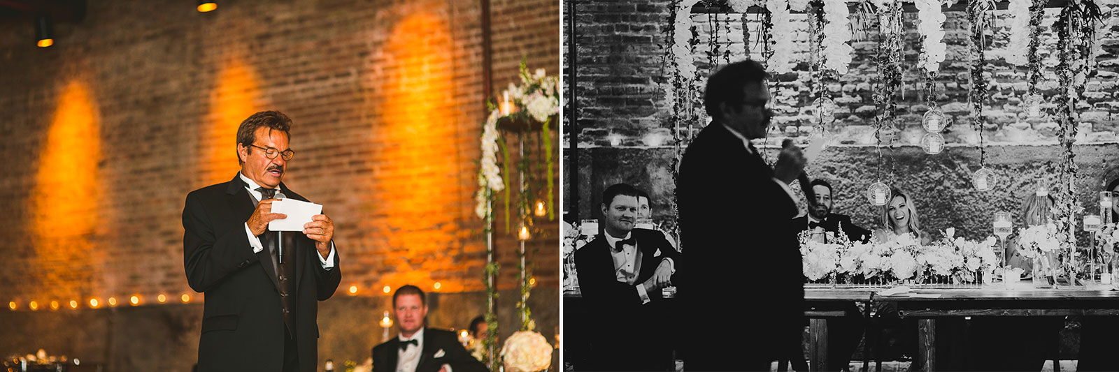 65 speech photography - Chicago Wedding Photography at Gallery 1028 // Courtnie + David
