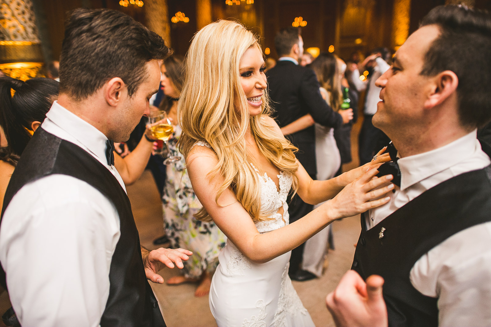 67 fun at reception - Kayla + Terry // Drake Hotel Chicago Wedding Photos