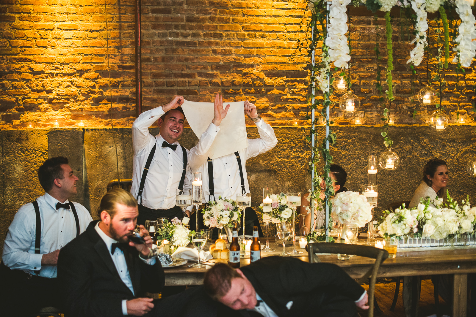 70 funny groomsmen - Chicago Wedding Photography at Gallery 1028 // Courtnie + David