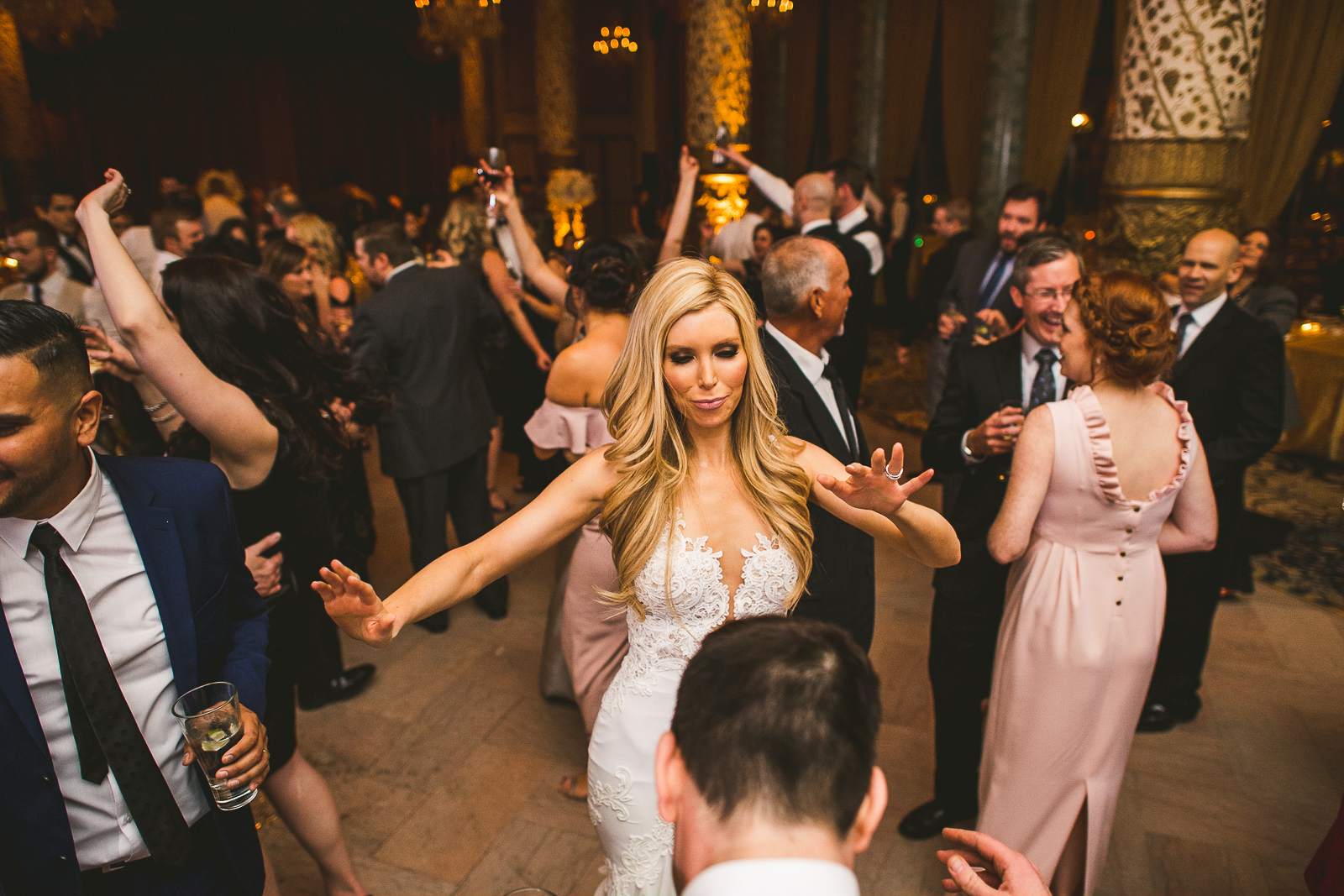 73 bride dancing - Kayla + Terry // Drake Hotel Chicago Wedding Photos