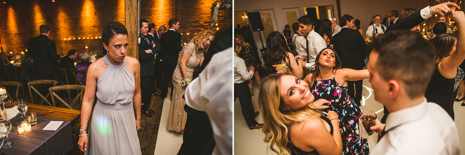 75 wedding at gallery 1028 - Chicago Wedding Photography at Gallery 1028 // Courtnie + David