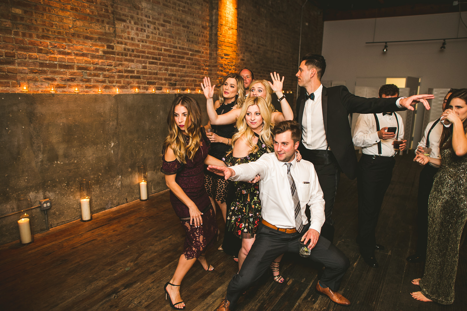 76 gallery 1028 wedding inspiration - Chicago Wedding Photography at Gallery 1028 // Courtnie + David