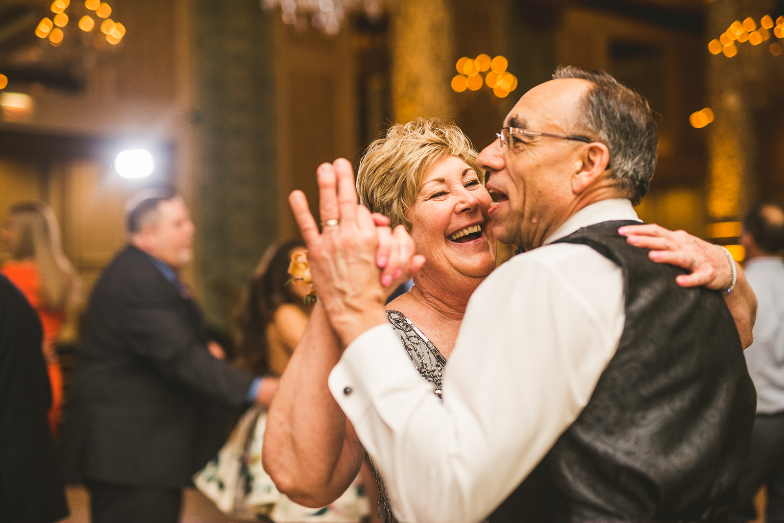 76 parents dancing - Kayla + Terry // Drake Hotel Chicago Wedding Photos