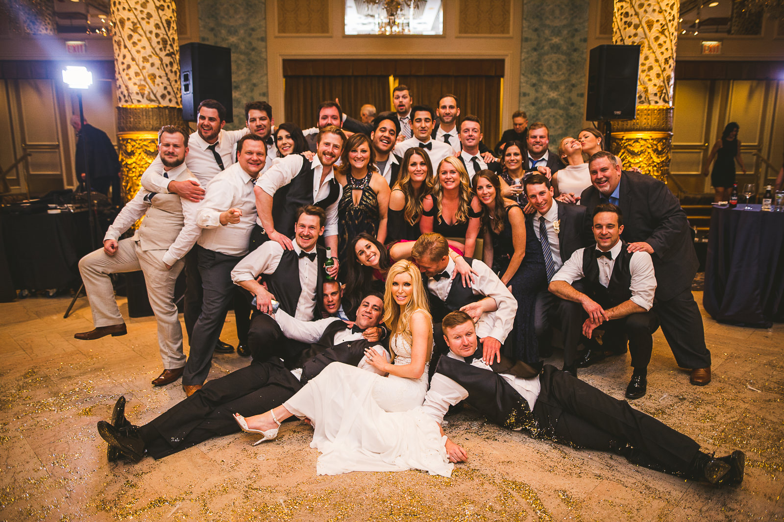 79 friends - Kayla + Terry // Drake Hotel Chicago Wedding Photos