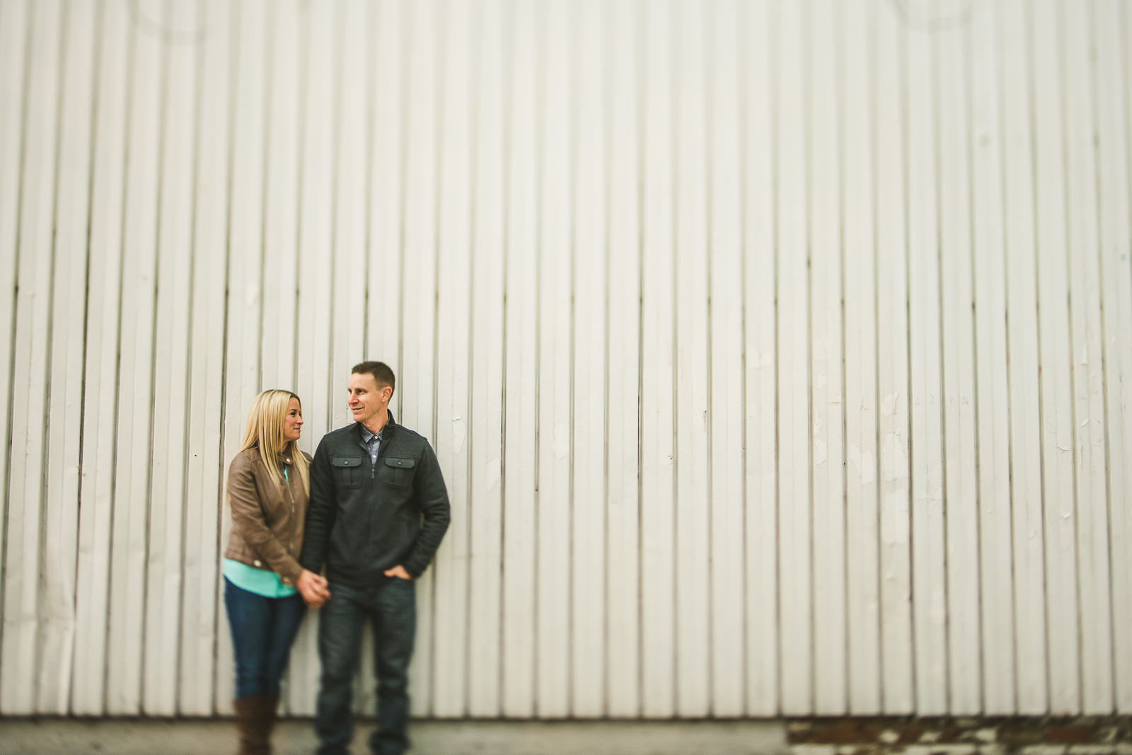 02 creative engagement photos in chicago - Downtown Chicago Engagement Photos // Kelly + Charlie