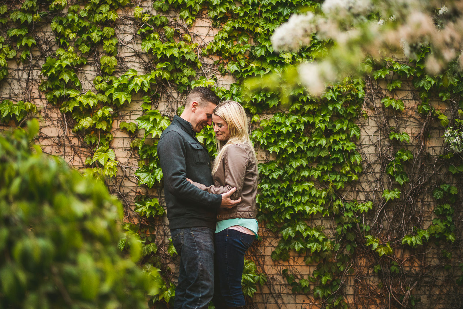04 fun engagement session photos - Downtown Chicago Engagement Photos // Kelly + Charlie
