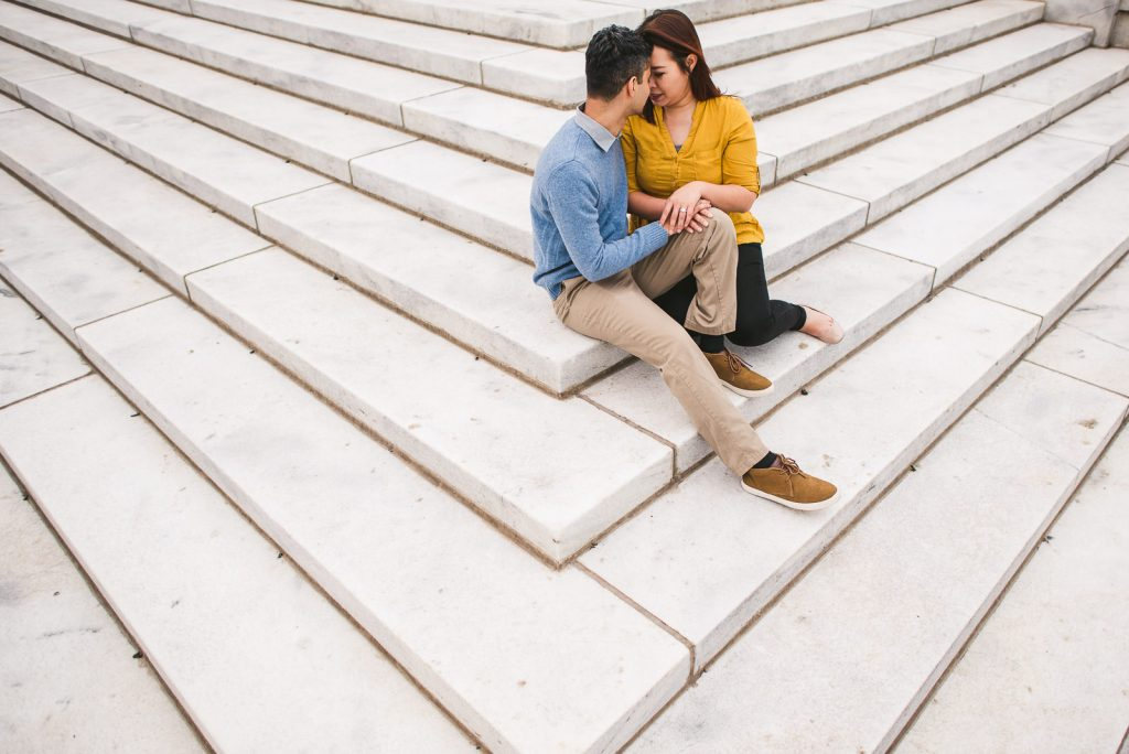Chicago Adler Planetarium Engagement Session // Zubair + Nam