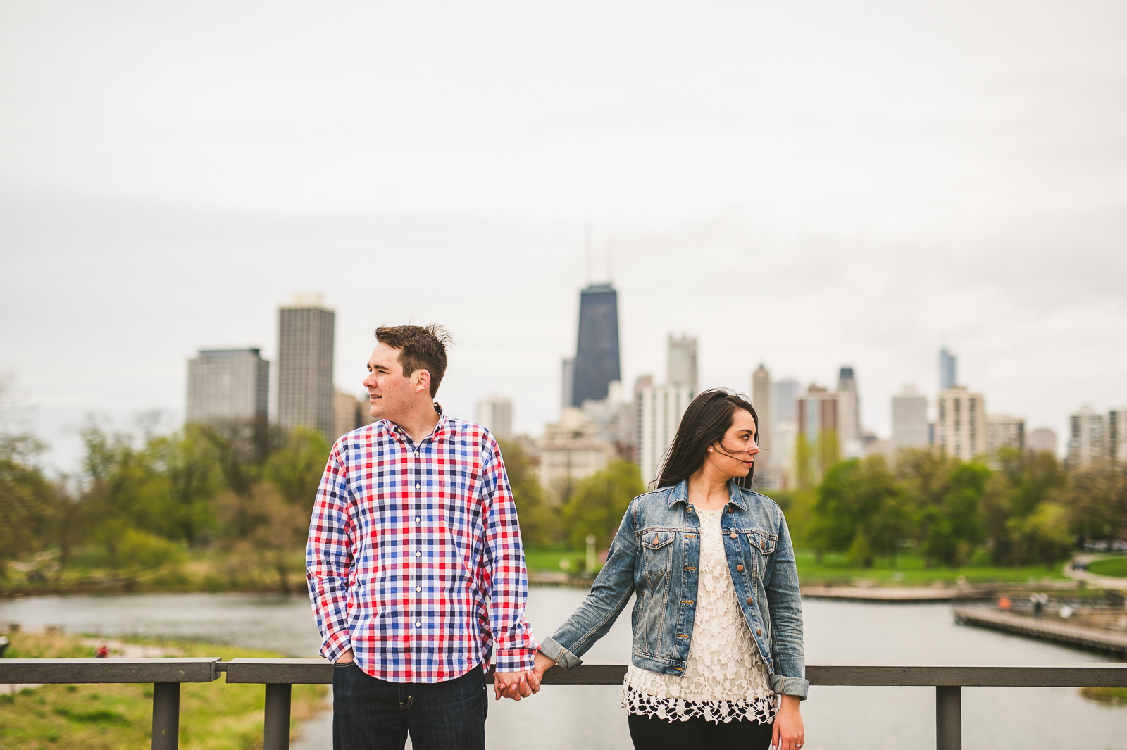 09 engagement photographer in chicago - Lincoln Park Engagement Session // Erica + Tim