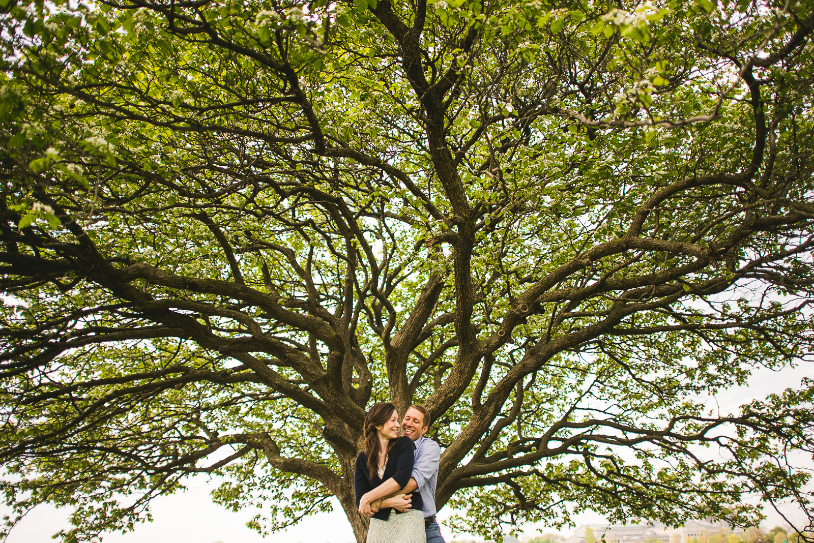 10 park engagement photography - Hyde Park Chicago Engagement Photos // Annemarie + Zach