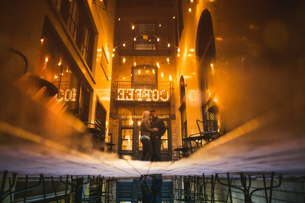 Downtown Chicago Engagement Photos // Kelly + Charlie