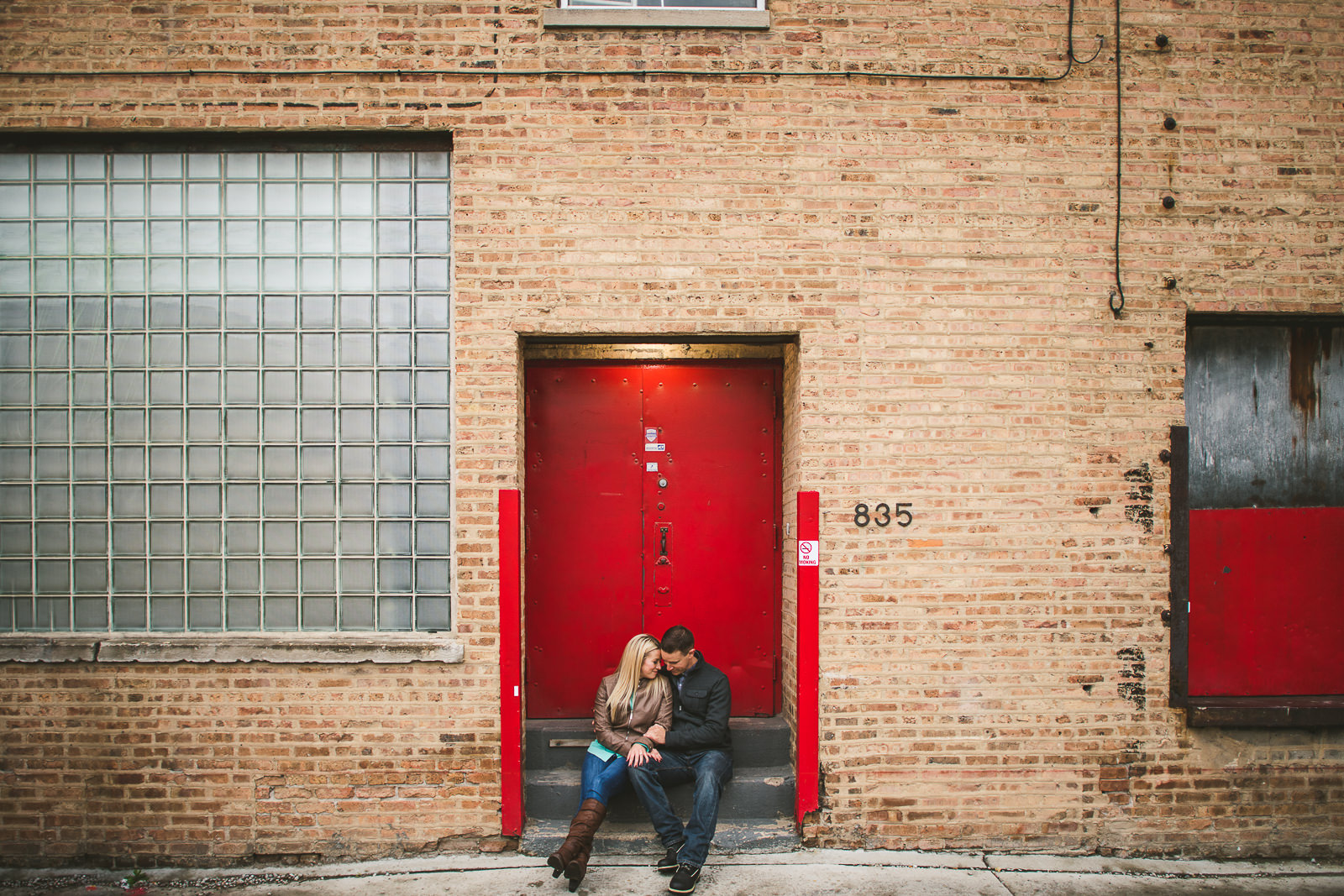 12 best chicago engagement photography - Downtown Chicago Engagement Photos // Kelly + Charlie