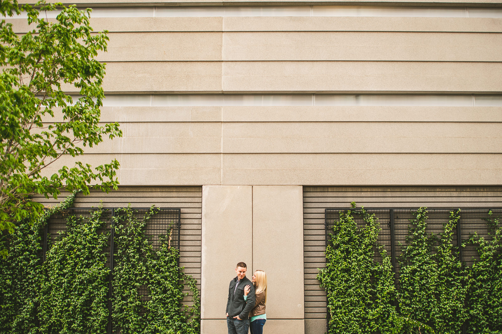 15 best engagement photos in chicago - Downtown Chicago Engagement Photos // Kelly + Charlie