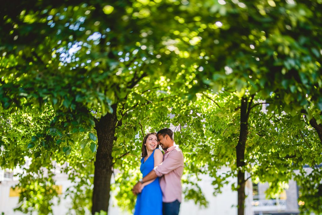 Lincoln Park Chicago Engagement Session at Homeslice // Kylie + Sean