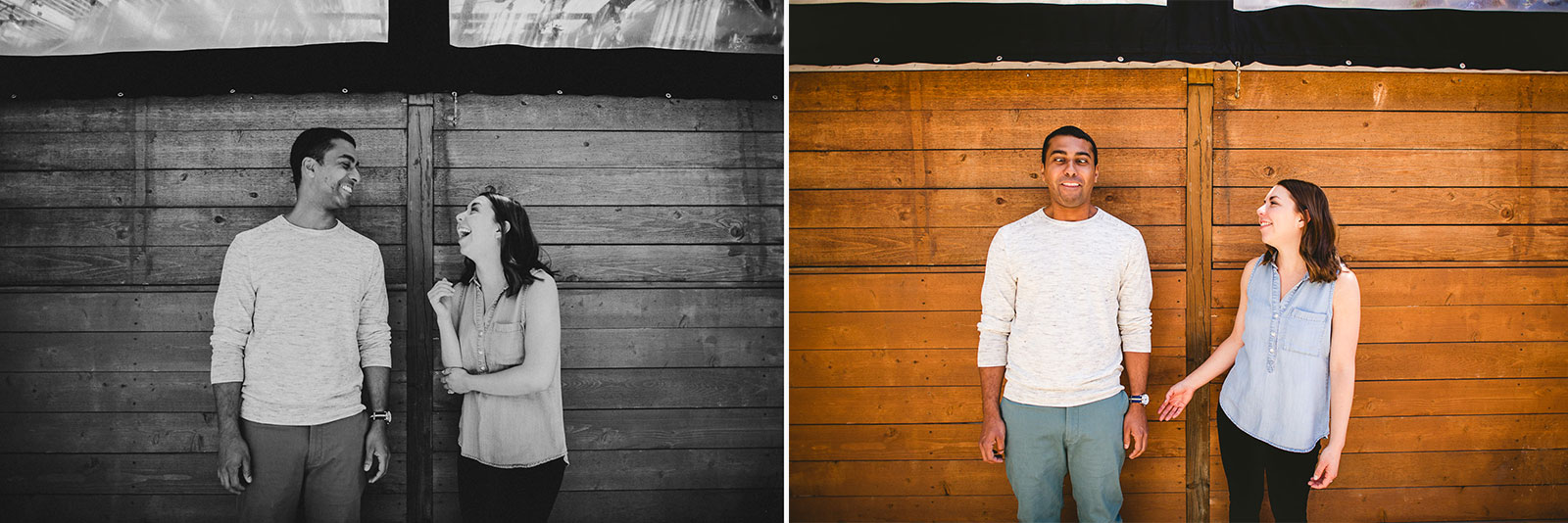 15 best engagement session photos - Lincoln Park Chicago Engagement Session at Homeslice // Kylie + Sean