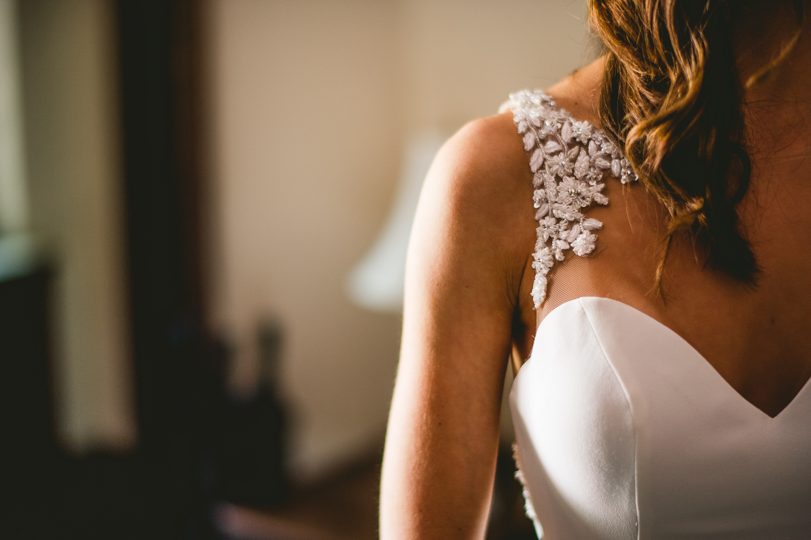 20 bride dress detail - Club of Hillbrook Wedding // Jenna + Ben