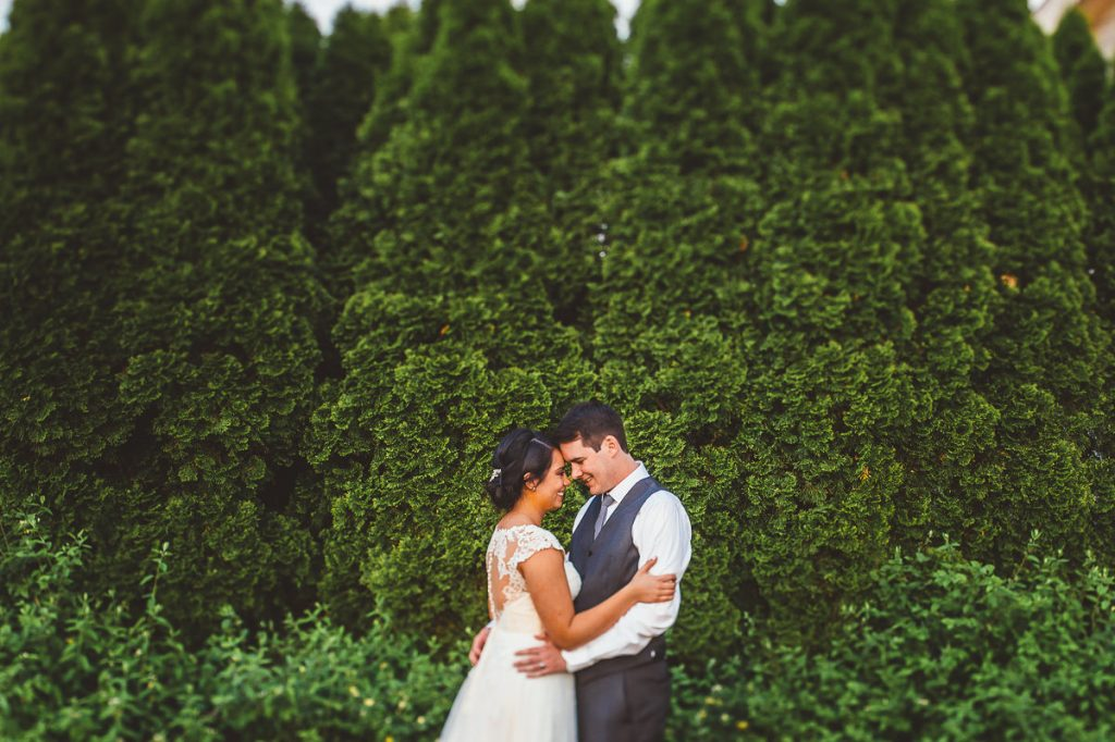 Notre Dame Blue Heron Blackthorn Wedding Photos // Erica + Tim