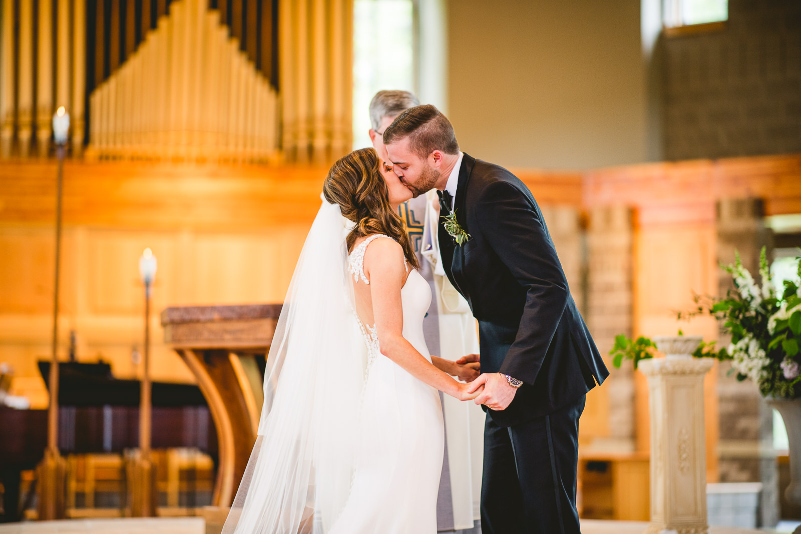 29 how to photograph first kiss - Club of Hillbrook Wedding // Jenna + Ben