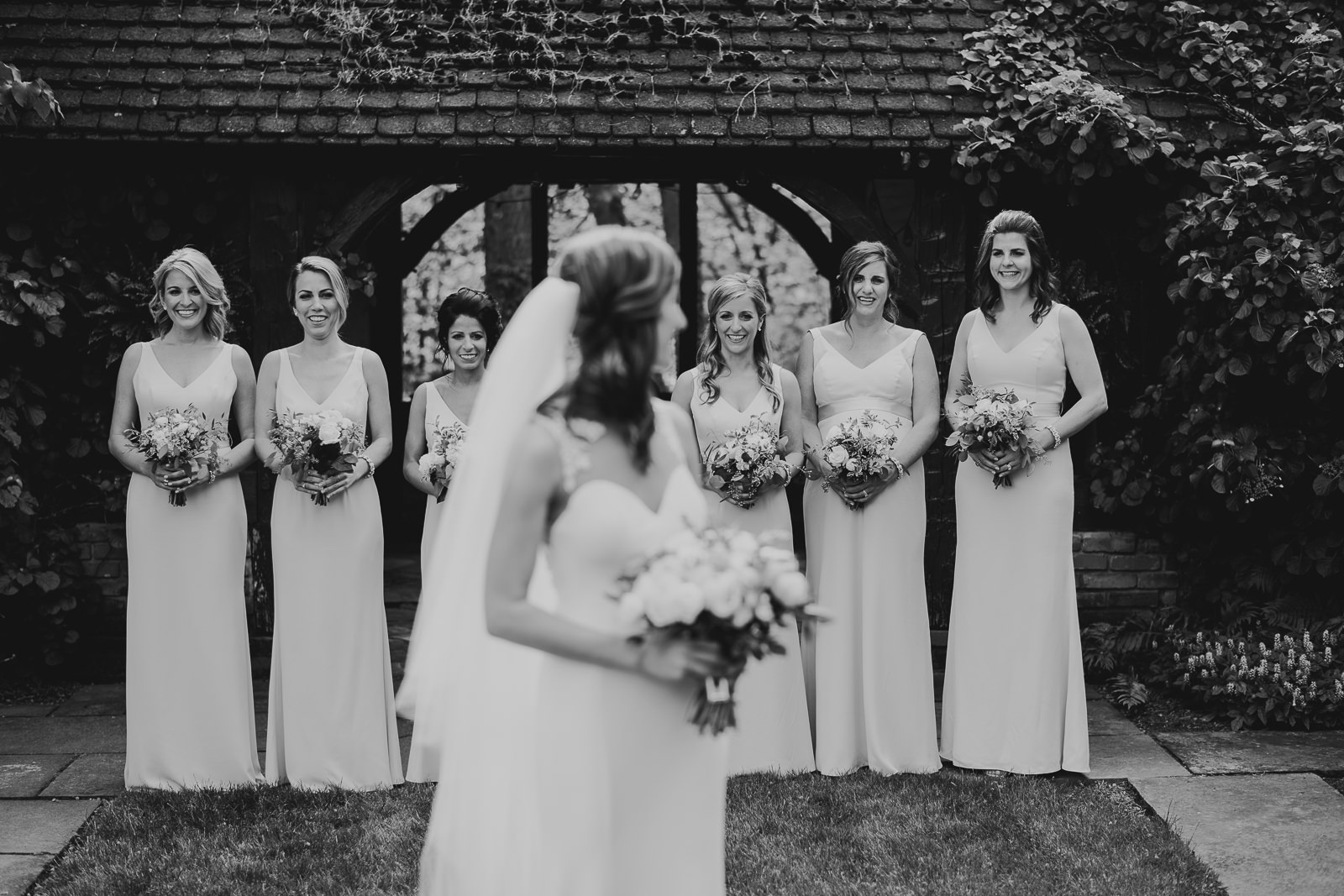 32 bride and bridesmaids in cleveland - Club of Hillbrook Wedding // Jenna + Ben