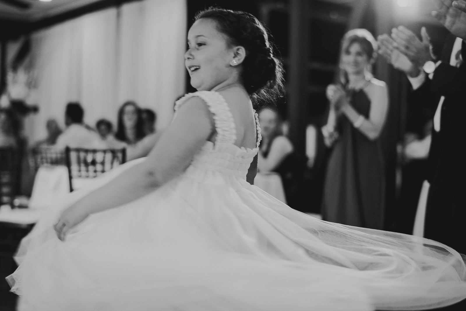 50 club of hillbrook black and white wedding - Club of Hillbrook Wedding // Jenna + Ben