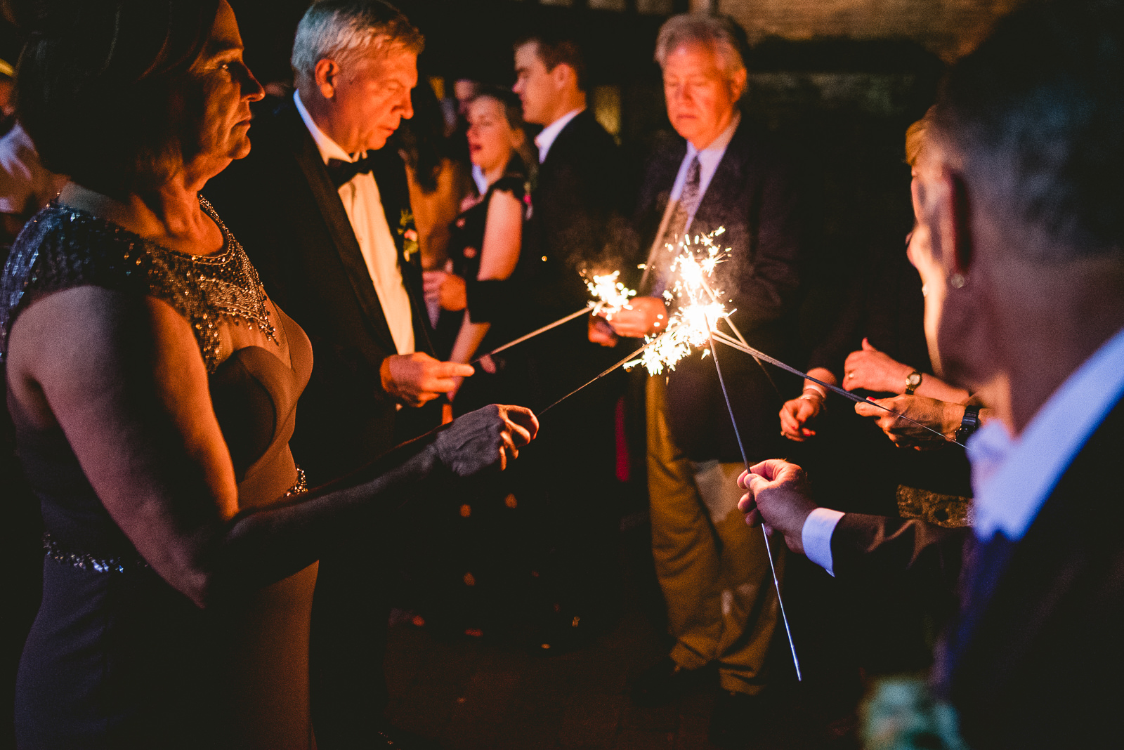 72 club of hillbrook sparklers at wedding - Club of Hillbrook Wedding // Jenna + Ben