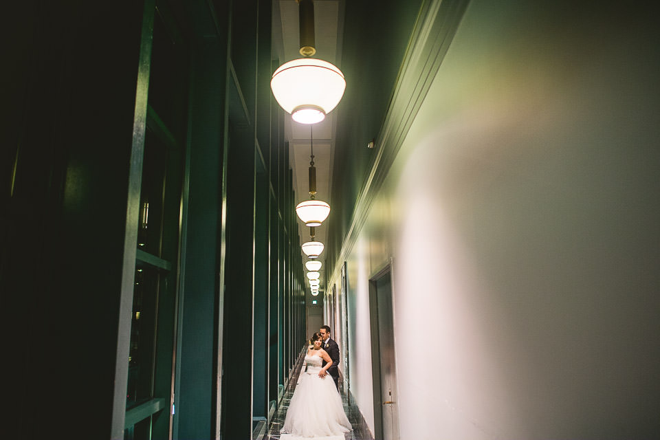 106 end of night portraits at harold washington library wedding - Harold Washington Library Wedding Photos // Kasia + Chris