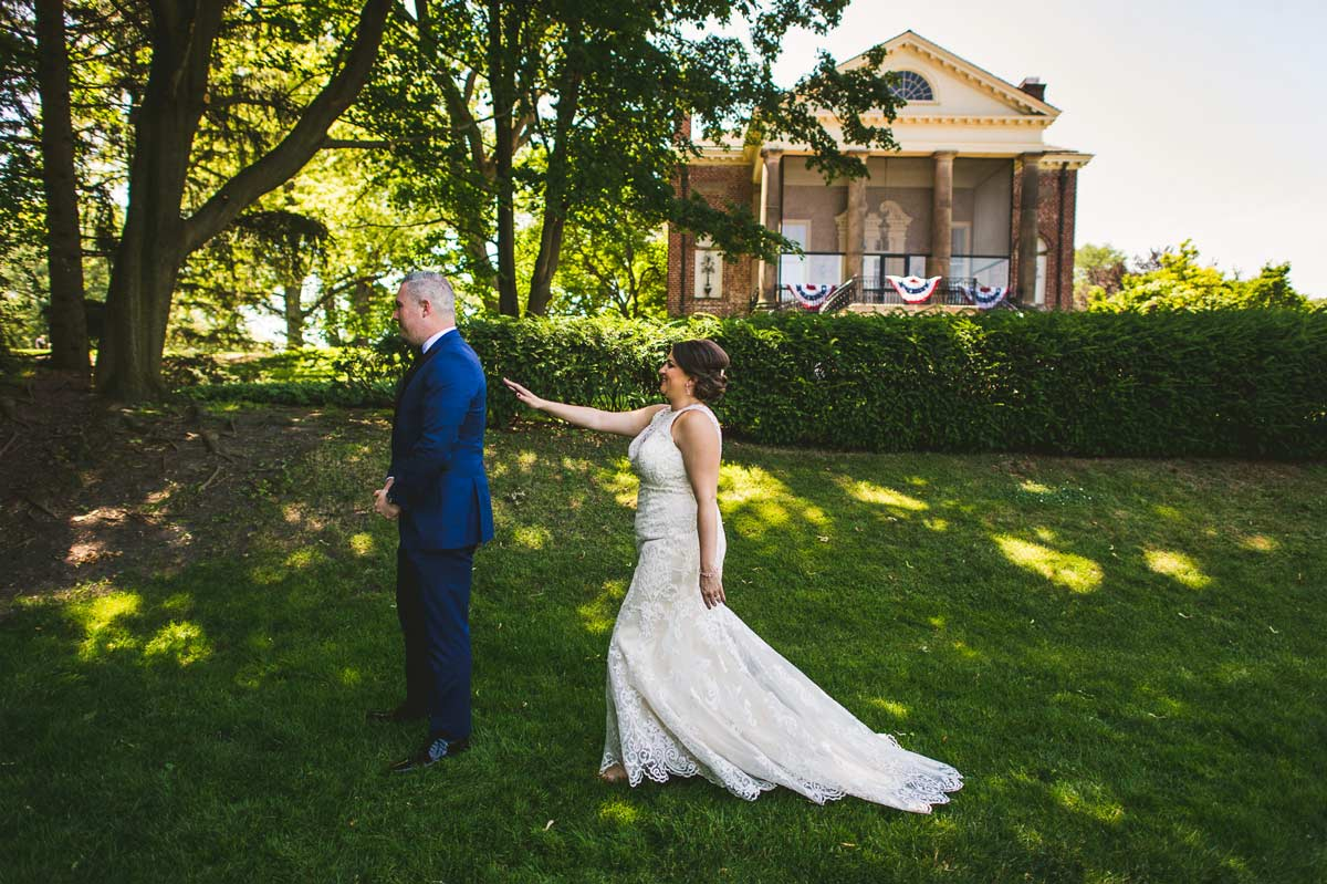 12 first look at cantigny park - Cantigny Wedding Photos