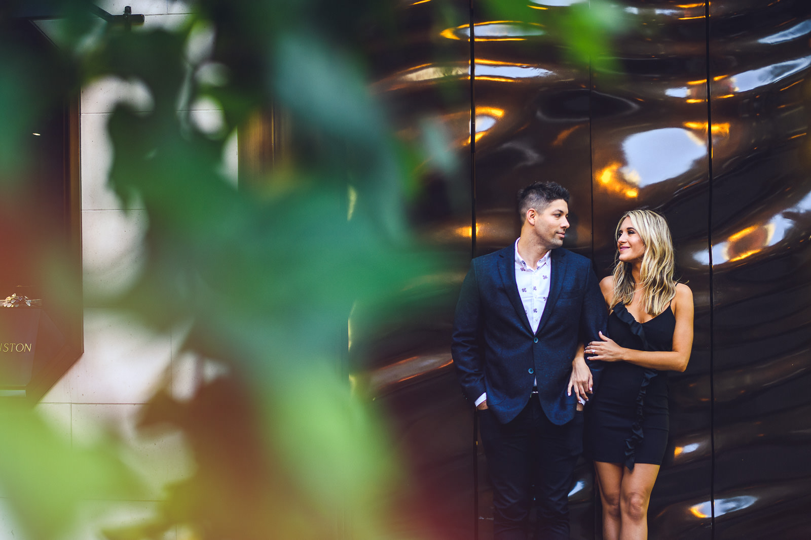 16 chicago photographer for proposal - Milton Lee Olive Park Surprise Proposal // Chris + Emma