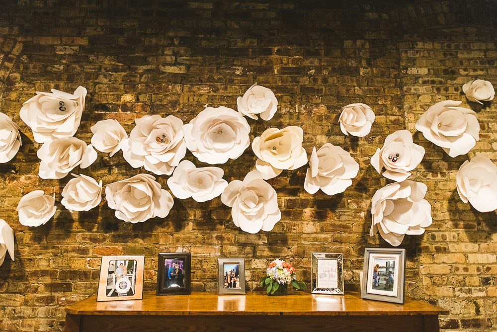 32 haight flower wall - Haight Wedding Photography // Kelly + Charlie