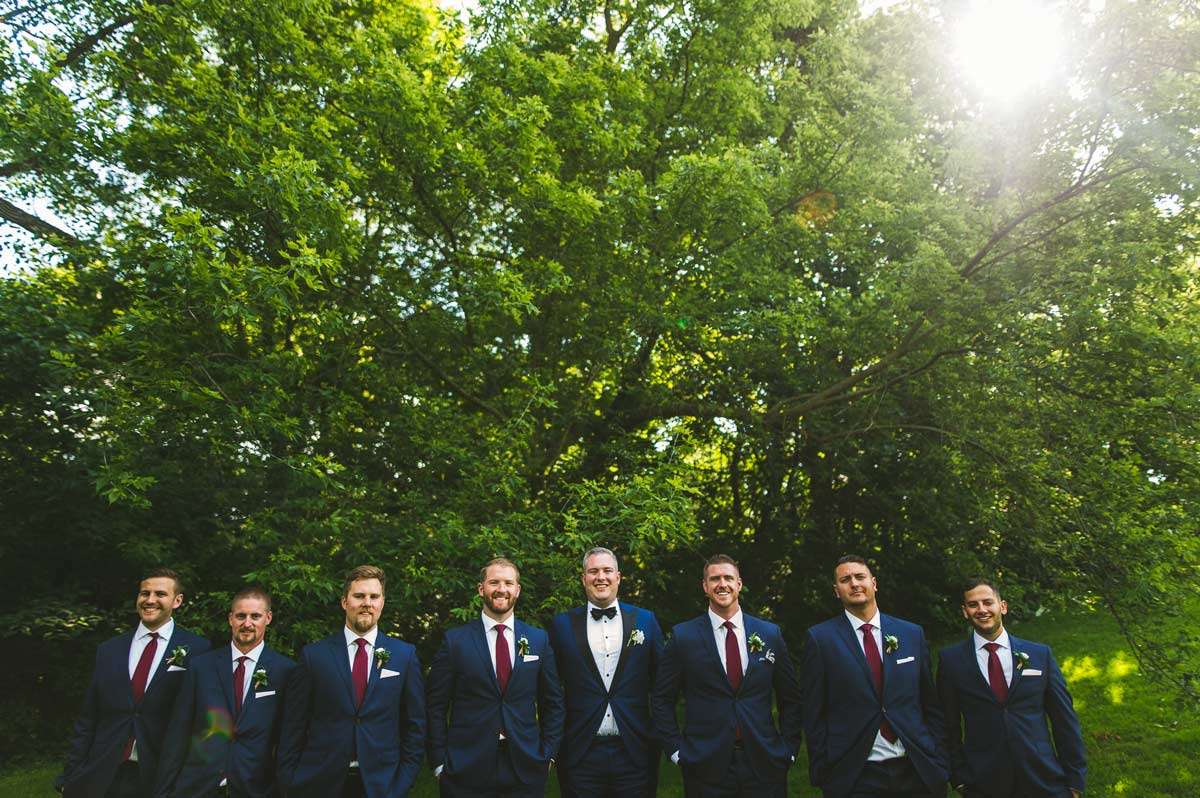34 groomsmen cantigny wedding photos - Cantigny Wedding Photos