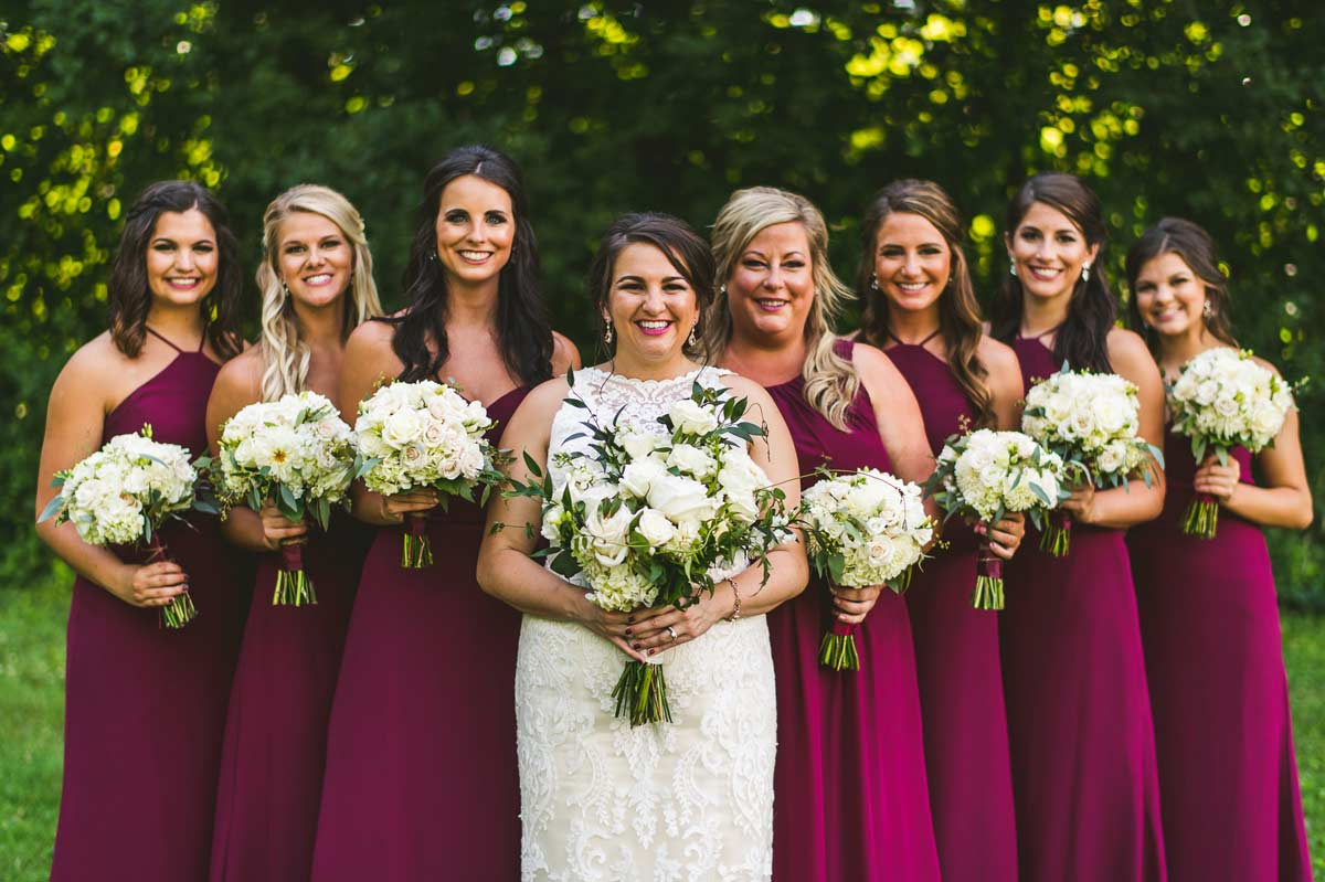 37 bridal party inspiration cantigny wheaton - Cantigny Wedding Photos
