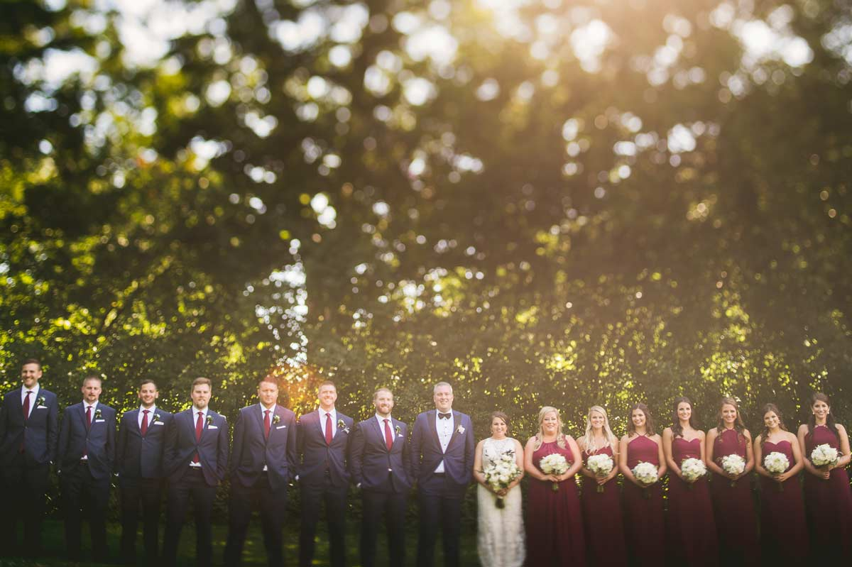 41 bridal party wheaton wedding photos - Cantigny Wedding Photos